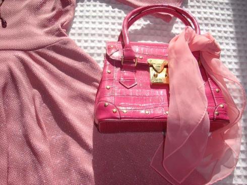 Think Pink - Vintage Handbag