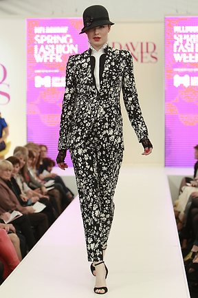 Black and White Lover Suit for MSFW 2012