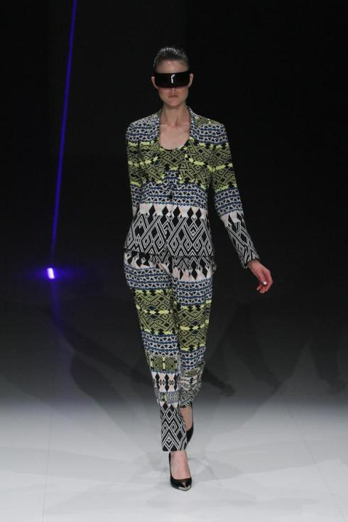 Arthur Galan AG printed suit