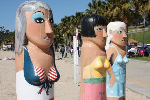 Beach Beauty Bollards