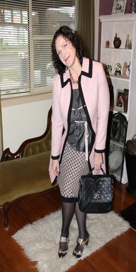 "Vintage Chanel Inspired ""Broken Down"""