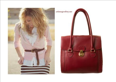Classic Chic - Oxblood for Spring