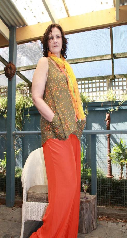 Holiday10 Orange Palazzo Pants