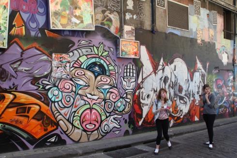 Melbourne Laneway Grafitti