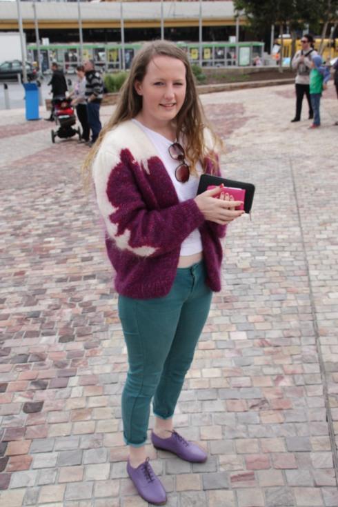 MSFW 2012 Granny Cardigan Chic