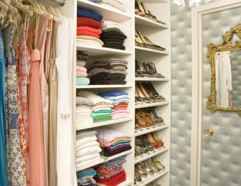 Nicely Organised Wardrobe