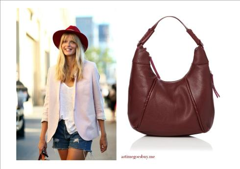 Spring Boho with Oxblood Accessories