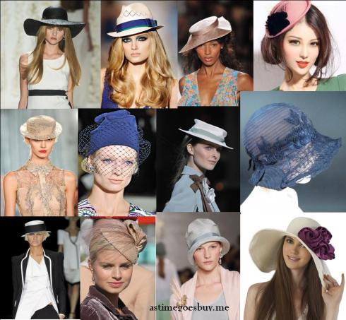 Fresh from the Runway Millinery