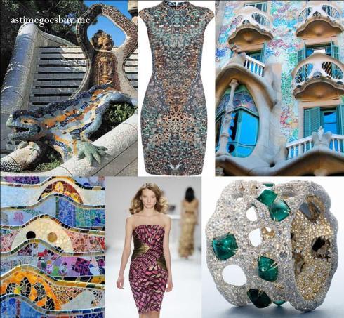 Gaudi Mosaic Inspiration