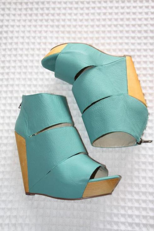 Turquoise Wedges from The Iconic