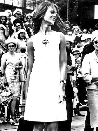 Jean Shrimpton 1965 Melbourne Cup Day