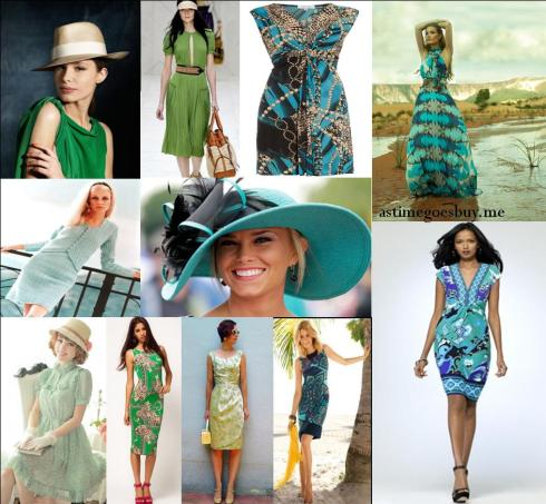 Stakes Day - Green and Blue