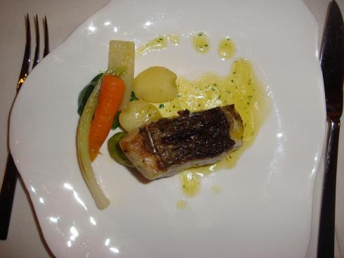 Sea Bass and Vegetables - Asador Extebarri - October 2012