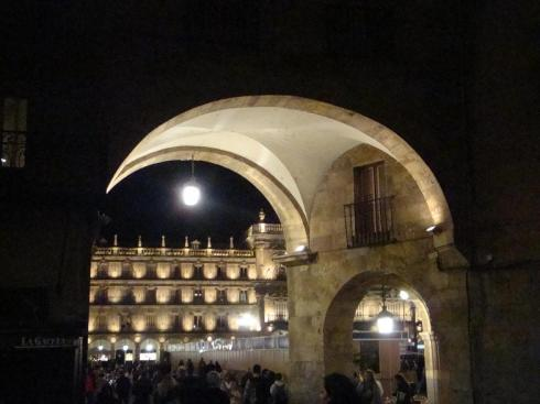 Archway into the Plaza Mayor - Salamanca - October 2012