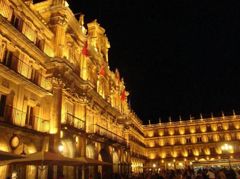 Plaza Mayor by Night - Salamanca - October 2012