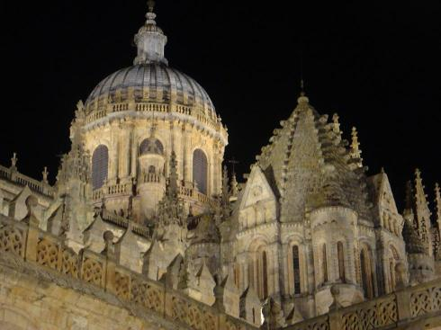 Cathedral at Night - Salamanca - October 2012