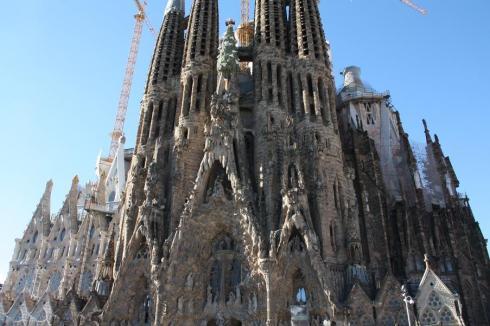 Sagrada Familia - Barcelona 2012