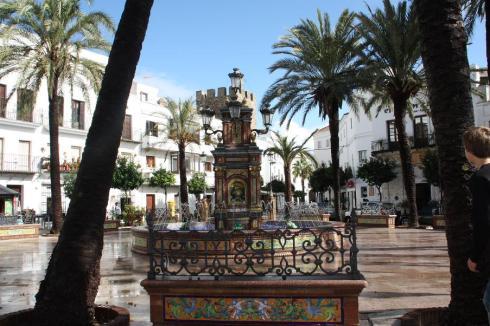 Plaza de Espana - Vejer de la Frontera - October 2012