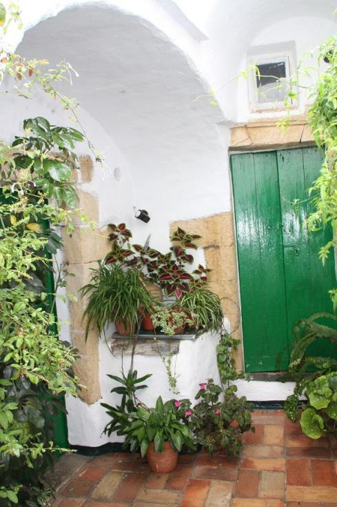 The Courtyard and Well at Vejer House - October 2012