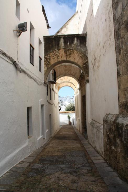 Archway at Juderia (Jewish Quarter) out toward New Town