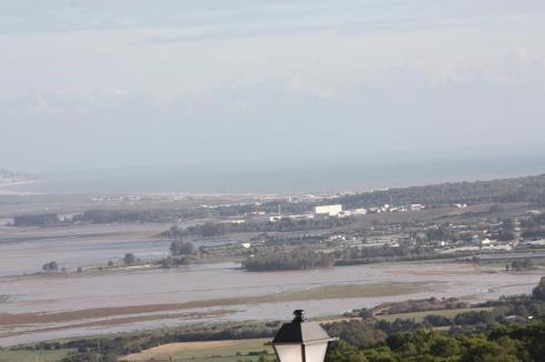 The view across to Morocco - Vejer de la Frontera - October 2012
