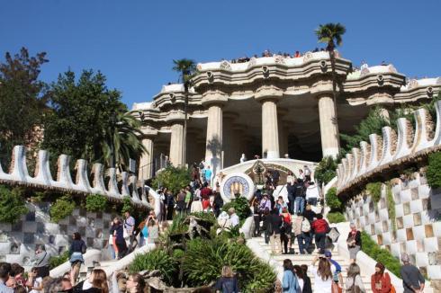 Guell Park - Barcelona 2012