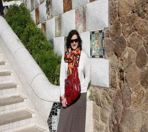 Visiting Guell Park - Barcelona 2012