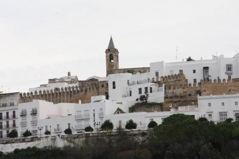 Arriving at Vejer de la Frontera - October 2012