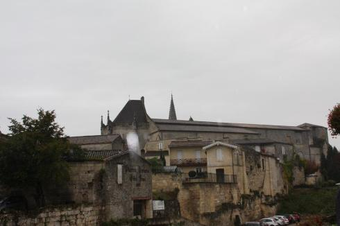 St. Emilion from the outer walls - October 2012