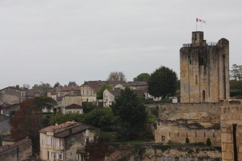 The view over St. Emilion - October 2012