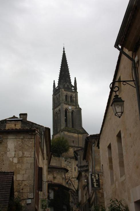 The Church at St. Emilion - October 2012