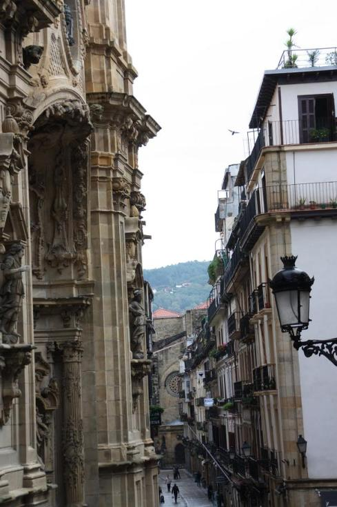 Streets of Old Town - San Sebastian - October 2012