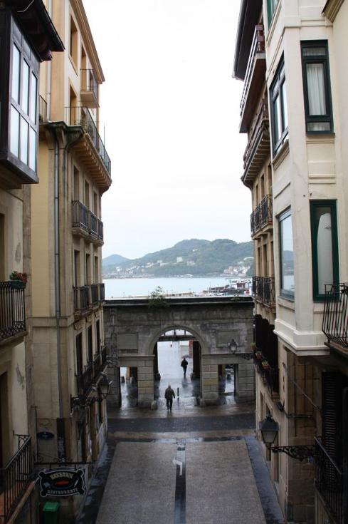 San Sebastian - next to the sea - October 2012