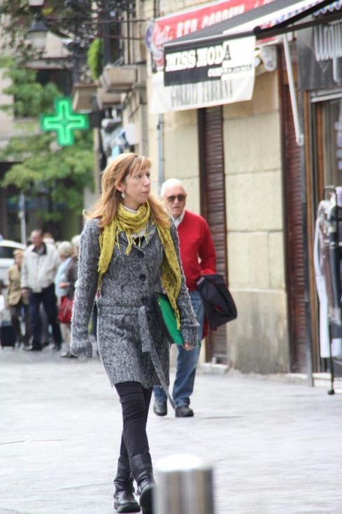 Scarf Street Style - Salamanca - October 2012