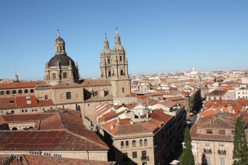 Looking over Salamanca - October 2012