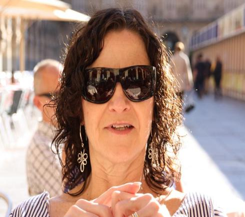 Sitting in Plaza Mayor - Salamanca - October 2012