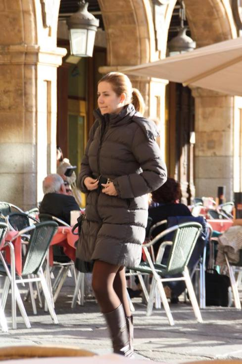 Street Style - Brown - Salamanca - October 2012