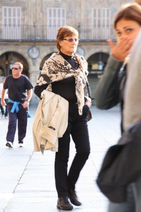 Street Style Scarf - Salamanca - October 2012