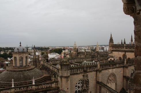 View from the Tower over Seville - October 2012