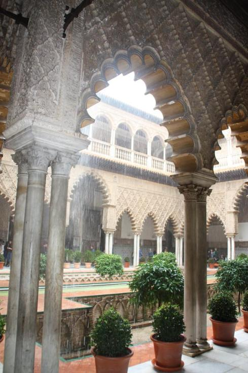 Inner Courtyard - Royal Alcazar - Seville - October 2012