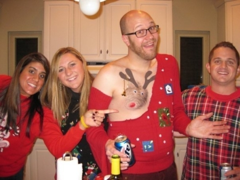 Christmas Costumes - Really?