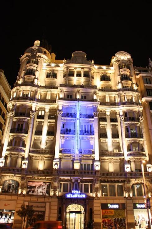 Hotel Atlantico - Madrid