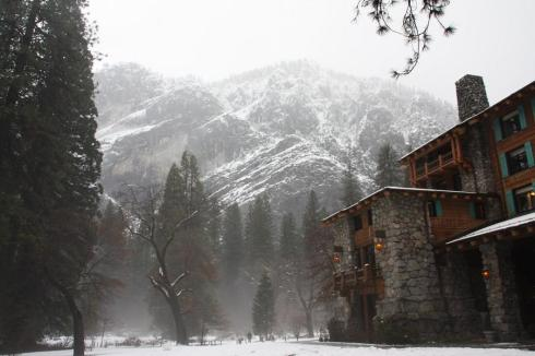 The Ahwahnee Lodge in Yosemite