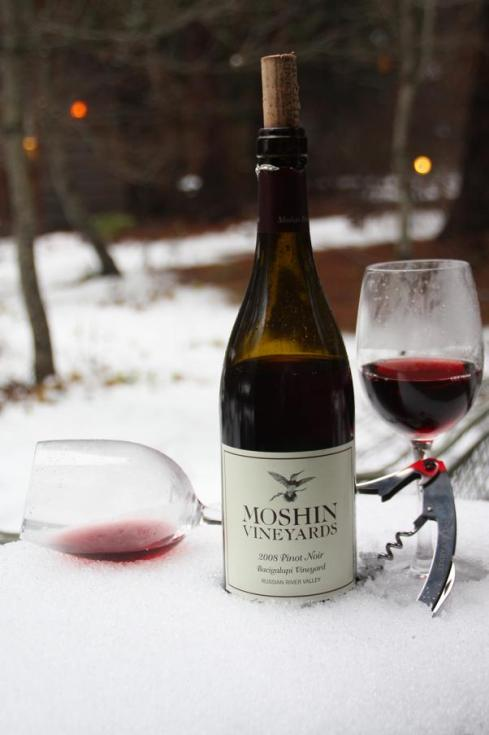 Russian River wines enjoyed at Yosemite