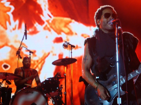 Lenny Kravitz on Fire - 2012