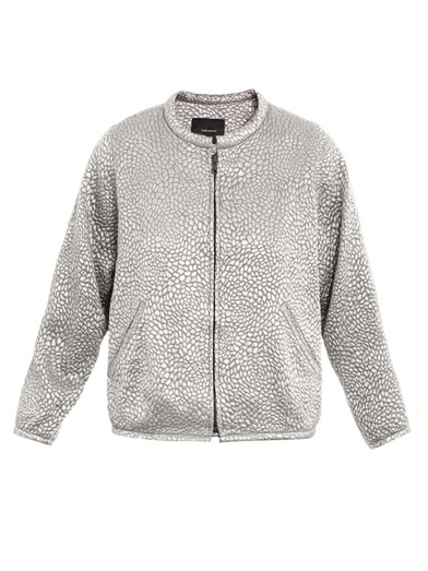 Isabel Marant silver metallic jacket