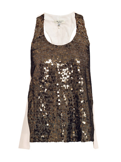 Rag & Bone sequin tank from Matches Fashion