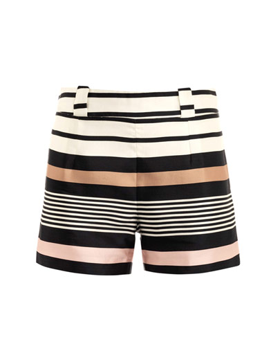 Cute Raoul shorts with a hint of metallic