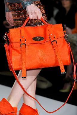 Mulberry Handbag - Tangerine Tango 2012
