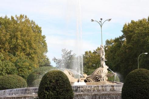 Neptune's Fountain - Madrid - November 2012
